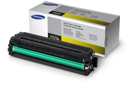 Toner Samsung Original CLT-Y504S Amarelo (CLT-Y504S/ELS)