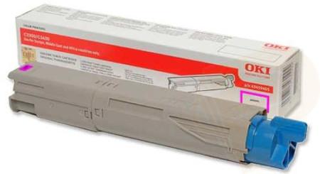 Toner Oki Original C3300 / C3400 / C3450 / C3600 Magenta
