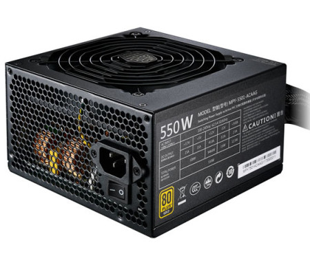 Fonte de Alimentação Cooler Master MWE Gold 550W