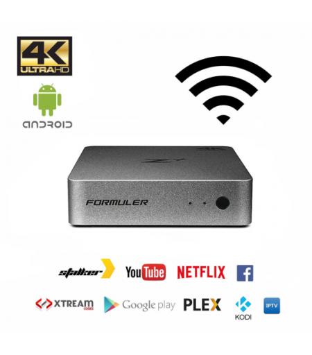 Receptor IPTV Formuler Z Plus Android Wifi