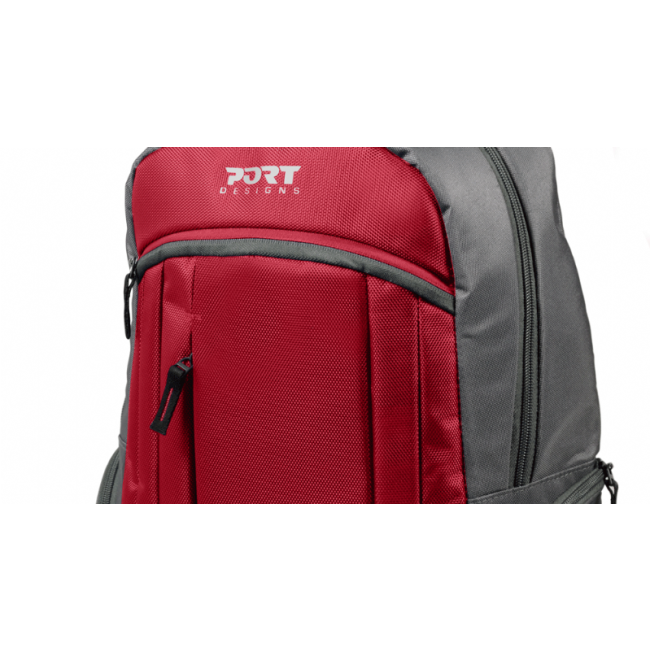 Mochila Port Designs VALMOREL Vermelha 15,6´ 110269 | ONBIT.pt