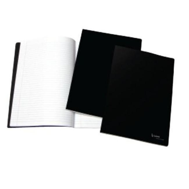 caderno liso capa preta a5 4school na loja online onbit pt