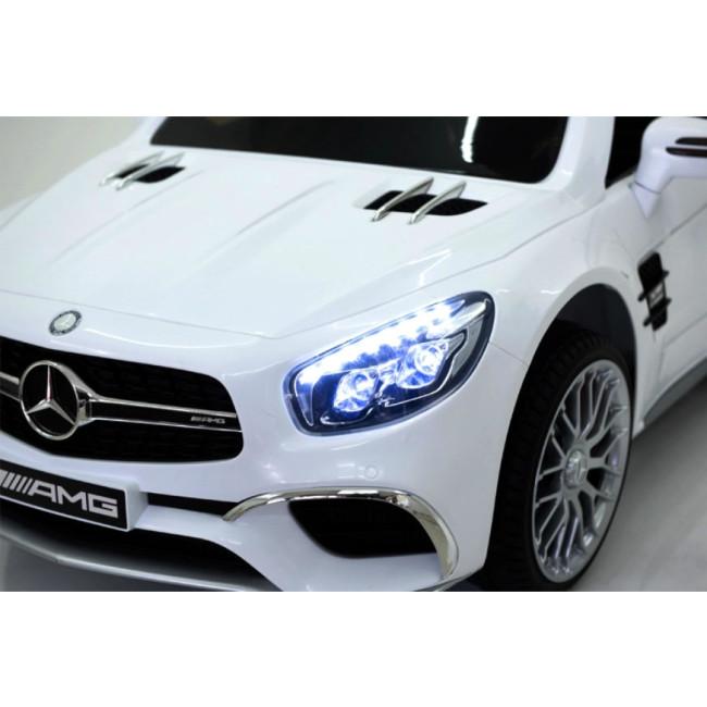 91da61ac6bec7 Carro Elétrico Mercedes SL65 12V Bateria c  Comando Branco - na loja ...