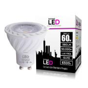 Lâmpada LED GU10 5W 6500K Luz Fria 380 Lúmens Radiant LED