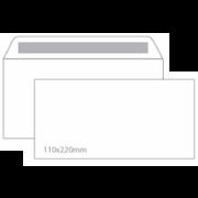 Envelope DL sem Janela 110x220 Silicone 90gr - Pack 10 Unidades