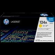 Toner HP LaserJet Original 124A Amarelo (Q6002A)