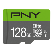 Cartão de Memoria Micro SD 128GB PNY Elite UHS-I C10 R100