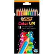 Lápis de Cor 18cm BIC Color Up 12 unidades