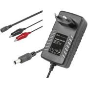 Carregador de Baterias Automático 6V / 12V 1500mA