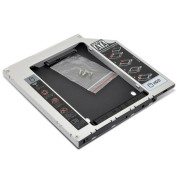 "Adaptador HDD/SSD Caddy 2,5"" para Drive Portatil 12.7 mm 1Life"