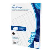 Etiquetas Adesivas Permanentes Mediarange - 38.1 x 21.2mm (3.250 un)