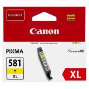 Tinteiro Canon CLI-581Y XL Amarelo Original (2051C001)