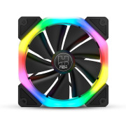Ventoinha 120mm Nox 1100RPM D-Fan RGB 6 Pinos PWM