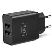 Carregador USB 1Life pa:dual usb