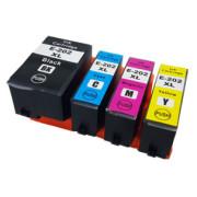 Conjunto 4 Tinteiros Epson 202 XL Compatíveis