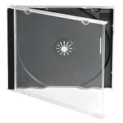 Caixa CD/DVD Mediarange Jewel 10.4mm - Pack 100   - ONBIT