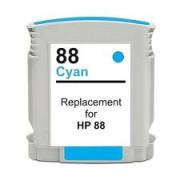 Tinteiro HP 88 Azul Compatível (C9391AE)   - ONBIT