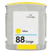 Tinteiro HP 88 Amarelo Compatível (C9393AE)   - ONBIT