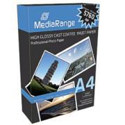 Papel Fotográfico A4 160g Brillante MediaRange (100 folhas)   - ONBIT