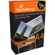 Papel Fotográfico A4 220g Brilhante MediaRange (100 folhas)   - ONBIT