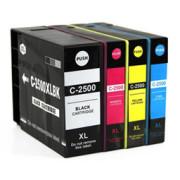 Conjunto 4 Tinteiros Canon Maxify Compatíveis PGI-2500 XL