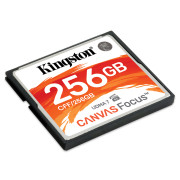 Cartão Kingston Canvas Compact Flash 256GB