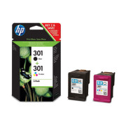HP 301 Combo-pack Preto/Tri-color Original   - ONBIT