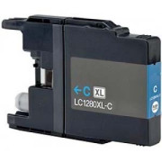 Tinteiro Brother Compatível LC1280C XL azul   - ONBIT
