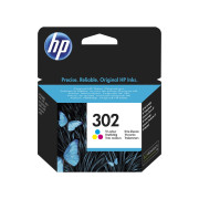Tinteiro HP 302 Tricolor Original (F6U65AE)   - ONBIT