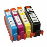 Conjunto 4 Tinteiros Compatíveis HP 364 XL