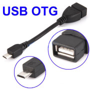Cabo USB OTG para Micro USB Gembird Cablexpert  A-OTG-AFBM-03 - ONBIT