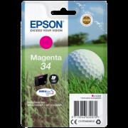 Tinteiro Epson 34 Magenta Original Série Bola de Golfe (C13T34634010)