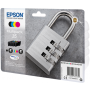 Conjunto 4 Tinteiros Epson 35 Originais Série Cadeado (C13T35864010)