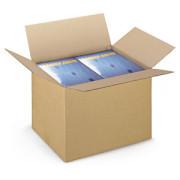 Caixa de Cartão Canelado Fino 360x260x360 mm - Pack 15 unidades