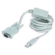 Cabo USB para Porta Serie DB9M 1.8 metros Gembird Cablexpert  UAS-DB9M-02 - ONBIT