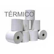 Rolos de papel 4Office térmico 57x30x11 - Pack 10   - ONBIT