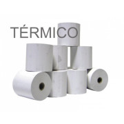 Rolos de Papel Térmico 4Office 80x35x11 - Pack 10