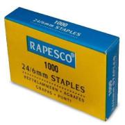 Agrafes Rapesco galvanizados - 24/6 - 1000 unidades   - ONBIT