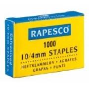 Agrafes Rapesco galvanizados - 10/4 - 1000 unidades   - ONBIT