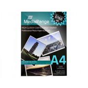 Papel Fotográfico Duplo A4 160g Brillante MediaRange (50 folhas)  MRINK108 - ONBIT