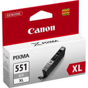 Tinteiro Canon CLI-551 GY XL Cinza Original (6447B001)