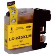 Tinteiro Brother Compatível LC225 XL (V2) Amarelo   - ONBIT