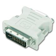 Adaptador Gembird Cablexpert DVI 24Pin p/ VGA 15Pin  A-DVI-VGA - ONBIT