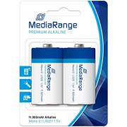 Pilhas MediaRange Premium Alkaline Mono D | LR20 | 1.5V - Pack 2