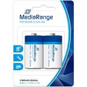 Pilhas MediaRange Premium Alkaline Baby C | LR14 | 1.5V - Pack2