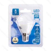 Lâmpada LED E14 4W 4000K Luz Natural A5 G45 Aigostar