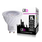 Lâmpada LED GU10 7W 6500K Luz Fria 540 Lúmens Radiant LED