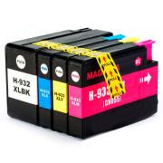 Conjunto 4 Tinteiros Compatíveis HP 932 XL / 933 XL