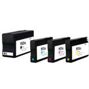 Conjunto 4 Tinteiros Compatíveis HP 950 XL / 951 XL
