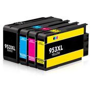 Conjunto 4 Tinteiros Compatíveis HP 953 XL
